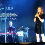 """Konzertreview: """"Annett Louisan"""" – 17.11.19 Köln"""