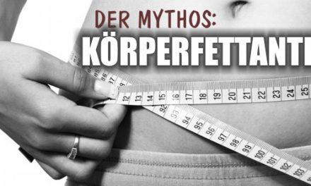 Der Mythos: Körperfettanteil