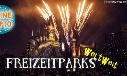 Shark´s Top10: Freizeitparks weltweit