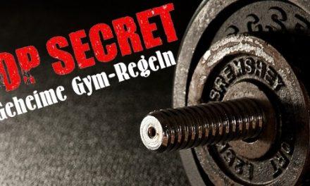 Top Secret! Geheime Gymregeln…