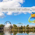 Cool down an heißen Tagen im Heide Park Resort
