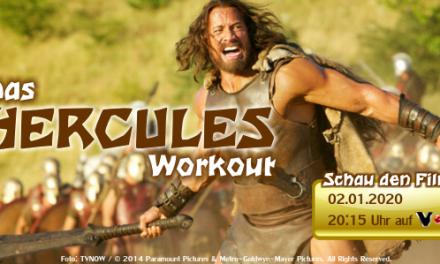 Das HERCULES Workout – Trainieren wie ein Halbgott