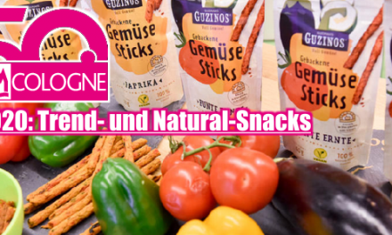 ISM 2020 – Cologne – Trend- und Natural-Snacks