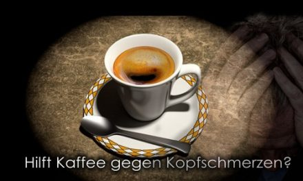 Kopfwehkiller Kaffee!? Hilft Kaffee wirklich?
