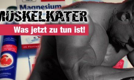 Muskelkater – Was jetzt zu tun ist!