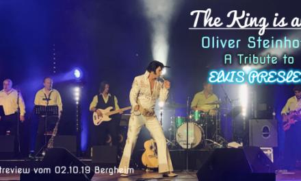 """Konzertreview: Oliver Steinhoff """"A Tribute to Elvis"""" – 02.10.19 Bergheim"""