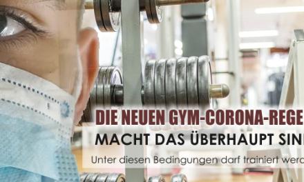 Neue Gym-Corona-Regeln! Macht das überhaupt so alles Sinn?