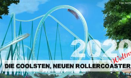 Die coolsten neuen Rollercoaster 2020