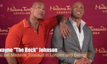 The Rock – Neu im Madame Tussauds London & Bejing