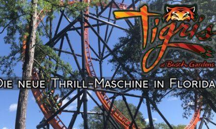 """Tigris"" – Neue Thrillmaschine in Florida"