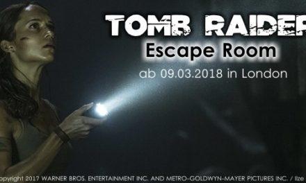"""""""Tomb Raider"""" – Escape Game in London"""
