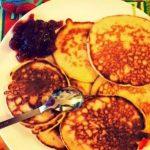 Rezept: Shark´s Vanilla-Cheesecake-Pancakes