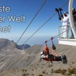 Längste Zipline der Welt im Emirat Ras Al Khaimah