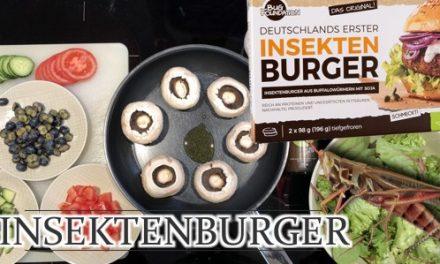 Der INSEKTEN-Burger – Protein-Food-Deluxe