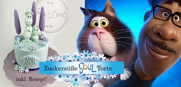 "Jetzt nachmachen: <br><strong>Zuckersüße ""SOUL""-Torte</strong> inkl. Rezept"