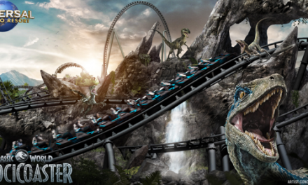 """Universal Islands of Adventure (USA)<br> <strong>""""VelociCoaster""""</strong> Sommer 2021"""